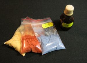 Порошковая краска для керамики и стекла