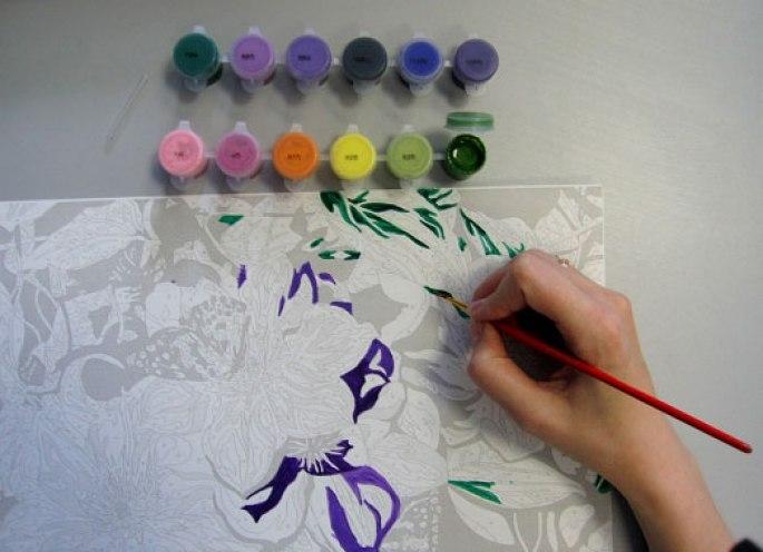 Раскраски по номерам для взрослых и детей, купить …