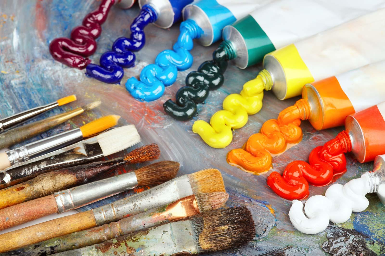 23 for Art plastique peinture