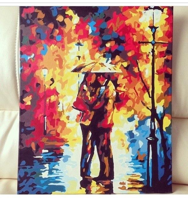 купить картину самой раскрашивать с красками