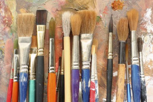 Кисти для рисования: разновидности и советы по выбору (+25 фото)