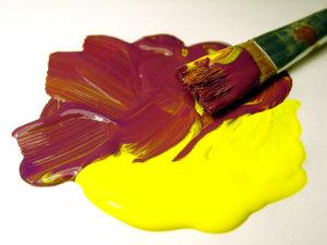 Разбавленная масляная краска