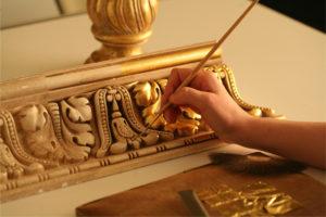 Декор под золото