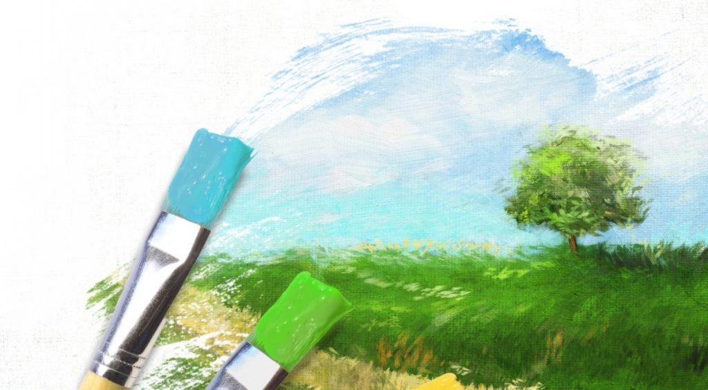 Рисование картины