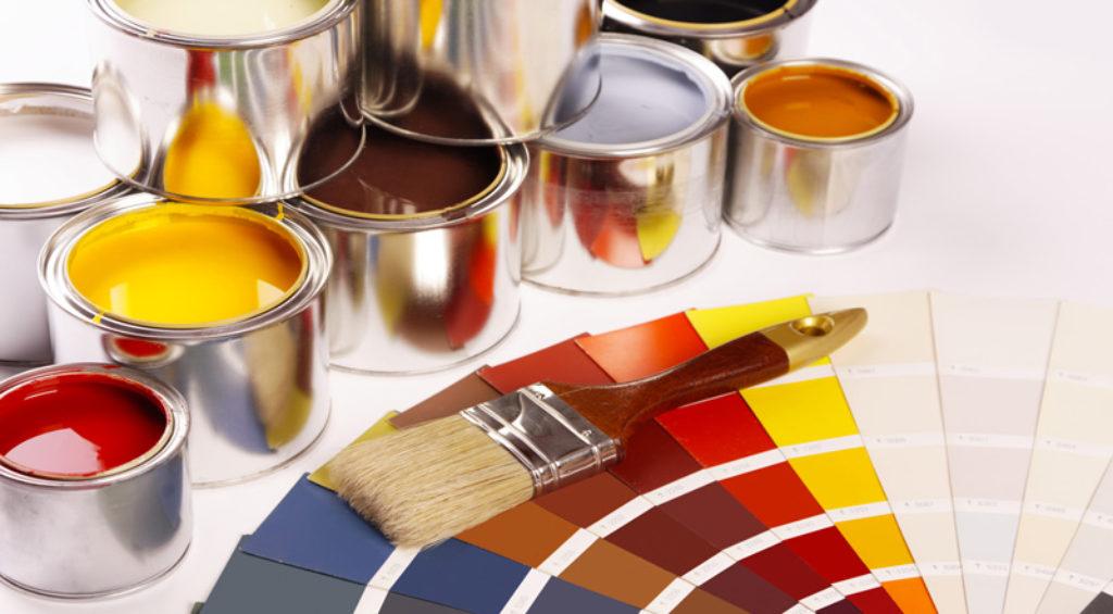 Разные виды краски