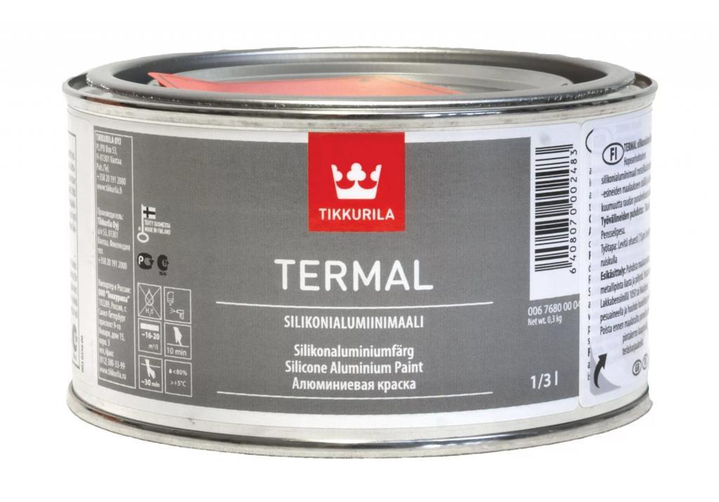 Алюминиевая краска производителя Тиккурила
