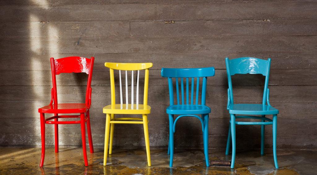 покраска стула