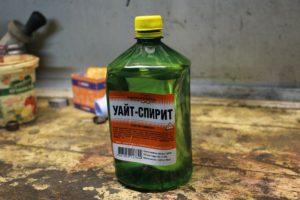 Уайт-спирит для обезжиривания