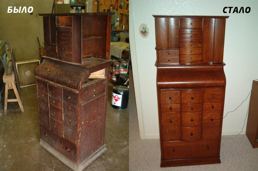 реставрация мебели своими руками технология восстановления