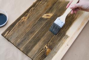 Лессирующее покрытие древесины