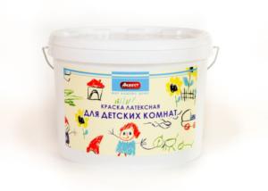 Латексная краска для детских комнат
