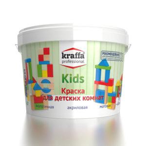Акриловая краска для детских комнат