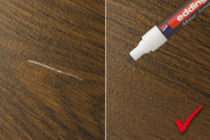 Мебельный маркер для ретуши