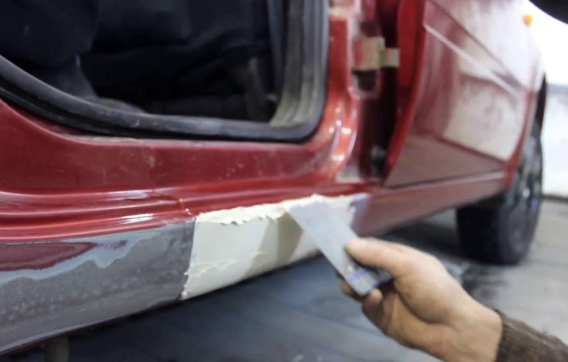 Шпатлевка для авто своими руками