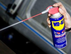 WD-40 от ржавчины для хромированных поверхностей