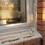 Утепление уличных дверей, террас, окон.