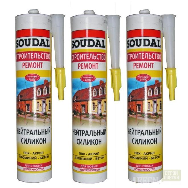Герметик полиуретановый Soudal, soudaflex 40