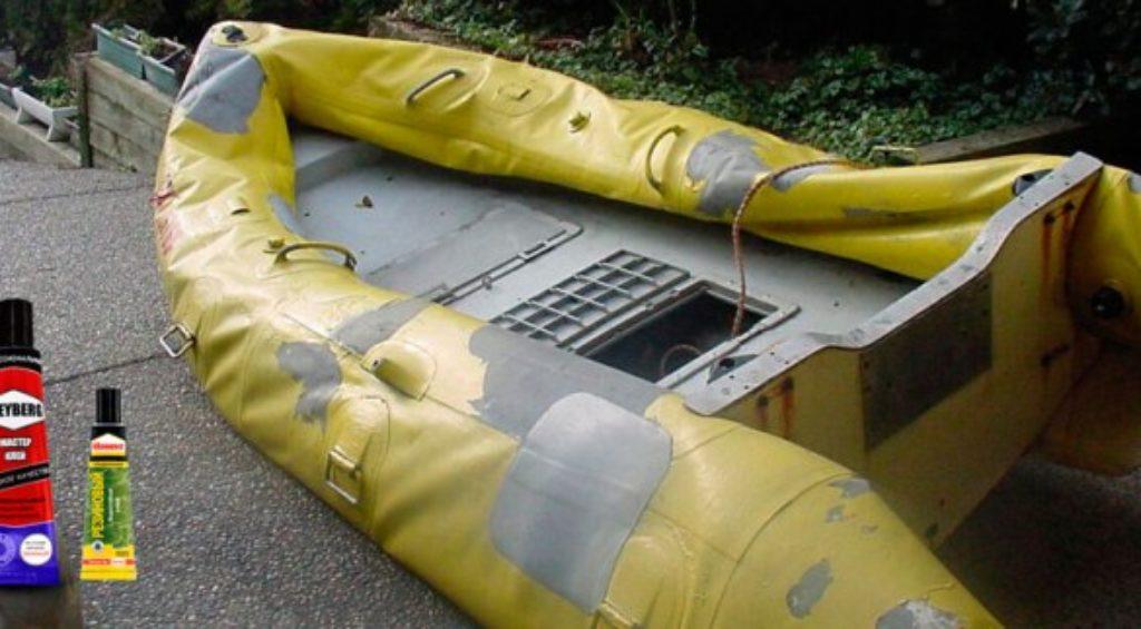 клея для ремонта лодок из ПВХ