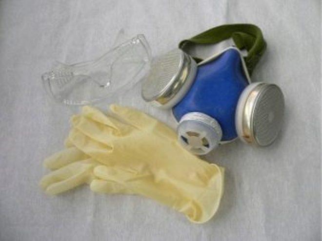 Меры предосторожности при пользовании пистолетом для жидких гвоздей