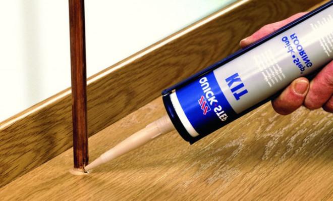 Восстановление напольного покрытия из паркета, ламината, досок, керамогранита. акриловым герметиком