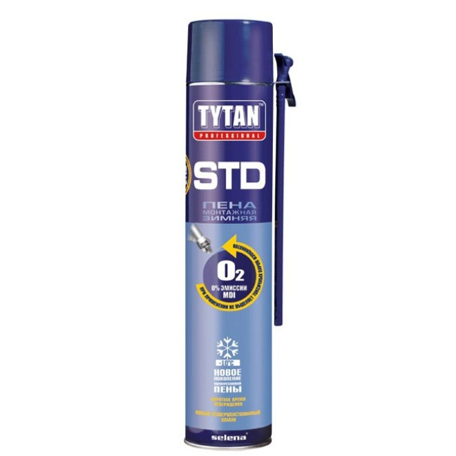 Tytan Professional пена монтажная зимняя