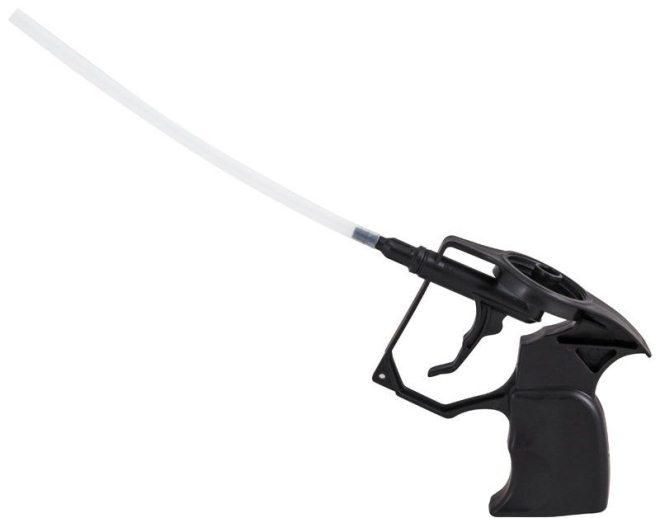 Как очистить пластиковый пистолет для пены