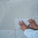 Применение плиточного клея кнауф флизен