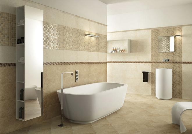 Можно ли укладывать керамогранит в ванной?